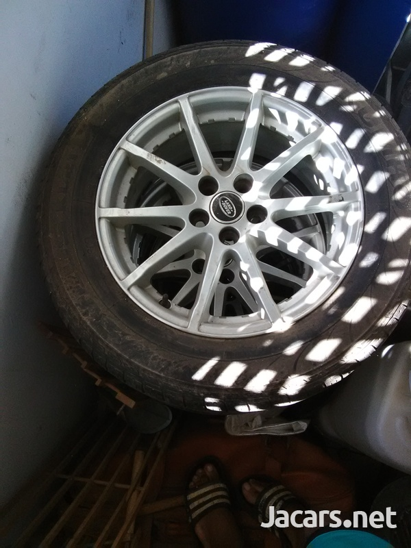 4x17 inch rims fits Land Rover-2