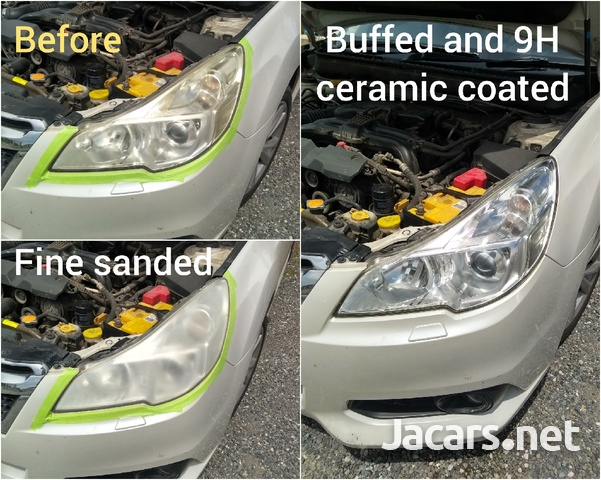 9H ceramic coating head lamp restoration-3
