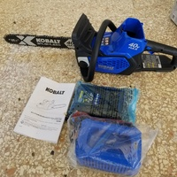 Kobalt Brushless 40V Max Chainsaw
