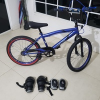Bike 20 inch for kids with protective gear