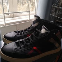 Burberry hightop sneakers