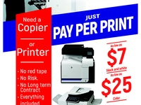 Copier and printer Solution.