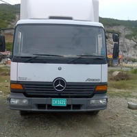 1999 Crashed Mercedes Benz 815 7.5 ton