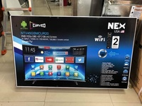 43 inches NEX AND BLUESONIC WIFI SMART LED T.V. CURVED