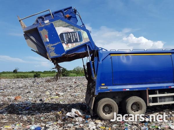 2008 Daf Cf75 Garbage Truck-2