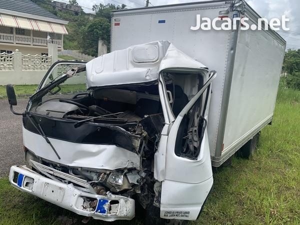 Crashed Isuzu Truck-4