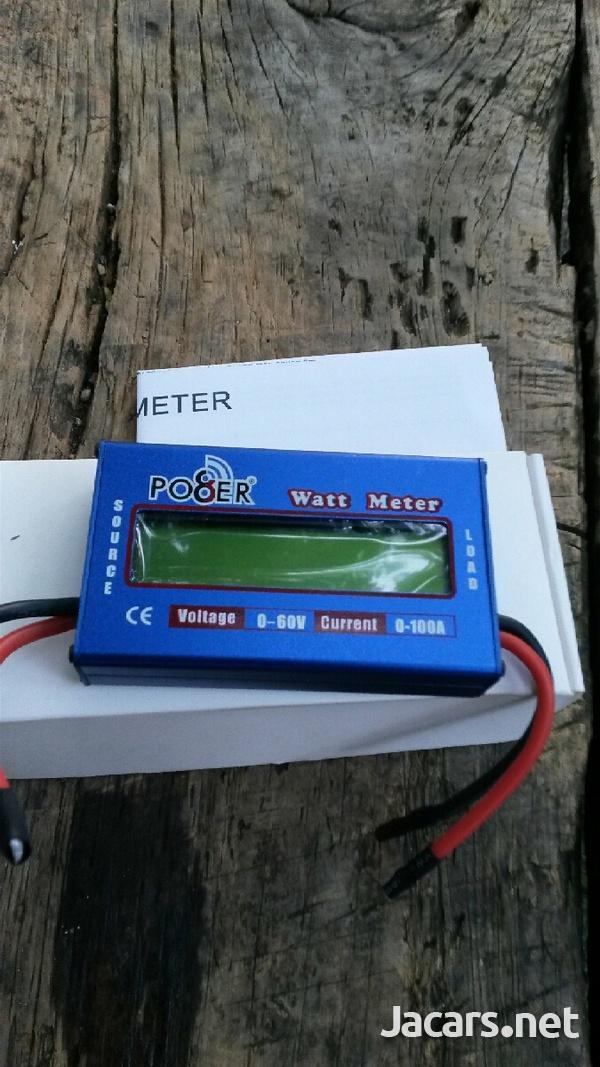 DC watt meter.-1