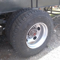 25ft Tipping Trailer