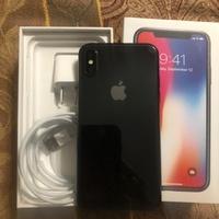 I phone x space grey 256 gig