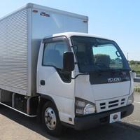Used Isuzu Elf Manual Dry Box Truck 4,8L