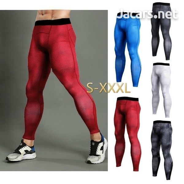 Men's Sportswear Compression Shirt andTights-2