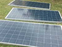 300watt Panels. 8.6amps