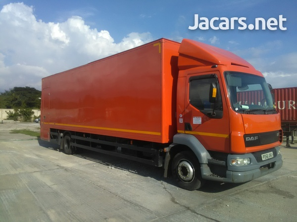 DAF LF 55 Box truck with contracts-1