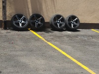 BMW 5 SPOKES RIMS AND TIRES