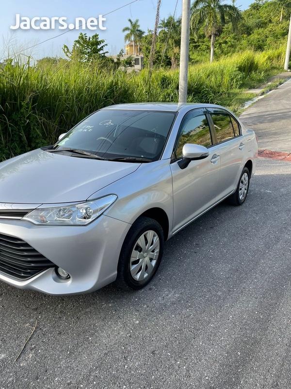 Toyota Axio 1,5L 2016-11