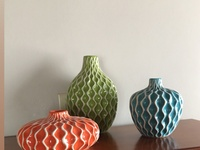 3 Piece Decorative Vase