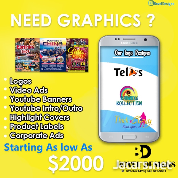 Graphic Designer -Posters,logo,Flyers,Channel Banner-1