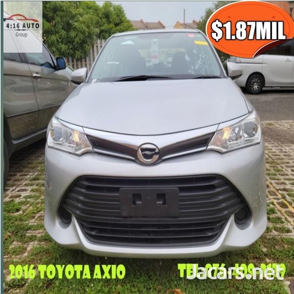 Toyota Axio 1,6L 2016-3