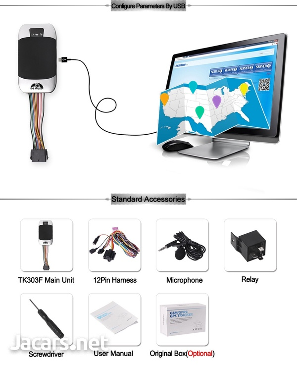 GSM/GPRS/GPS VEHICLE TRACKER-4