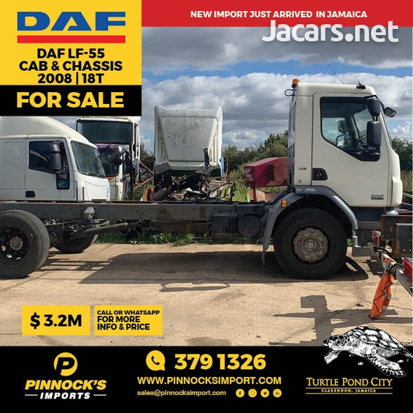 DAF LF55 Cab and Chassis 18t 2008-1