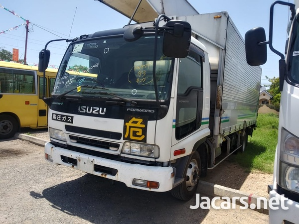 Isuzu Forward 2006 Aluminum Wing Truck-1