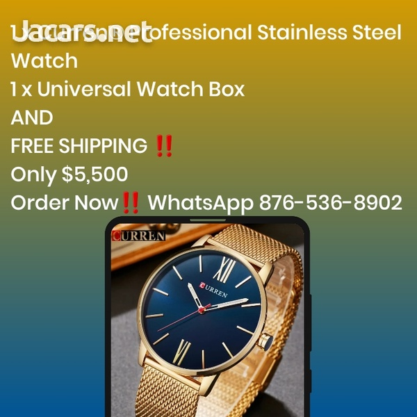Curren Professional Stainless Steel Watch-1