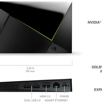 NVIDIA SHIELD Android TV Pro | 4K HDR Streaming Media Player