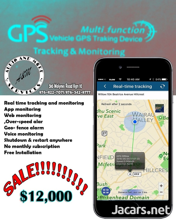 AUTO GSM GPS tracking and monitoring system Inclusive of installation-1
