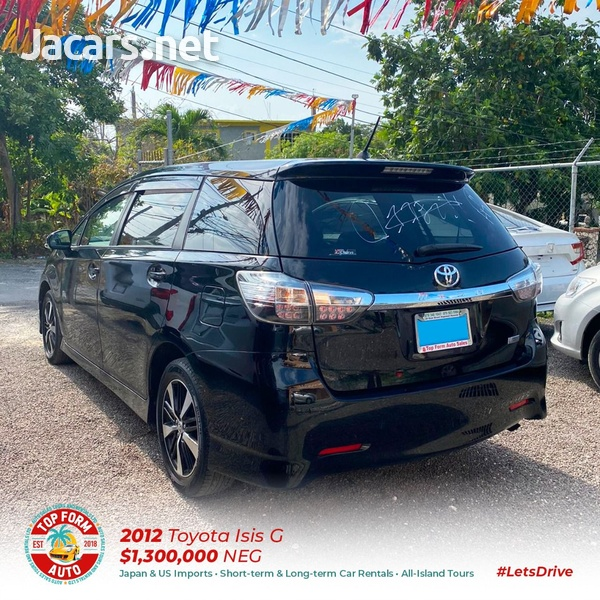 Toyota Wish 2,0L 2012-11