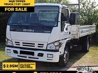 Isuzu NQR Tipper 7.5T Truck 2007