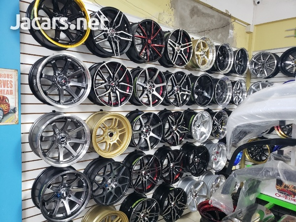 Rims, Diffuser, lugs, steering cover, back up camera, touchscreen radio, etc-13