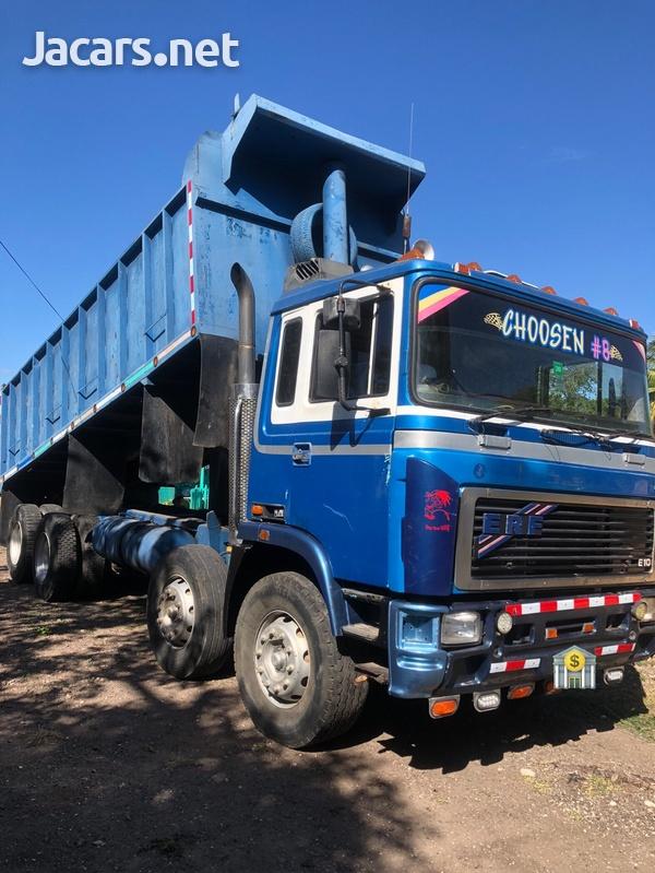 1998 Blue ERF Tipper Truck-1