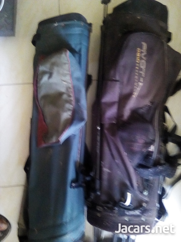 Golf Clubs 2 sets with bags and balls-3