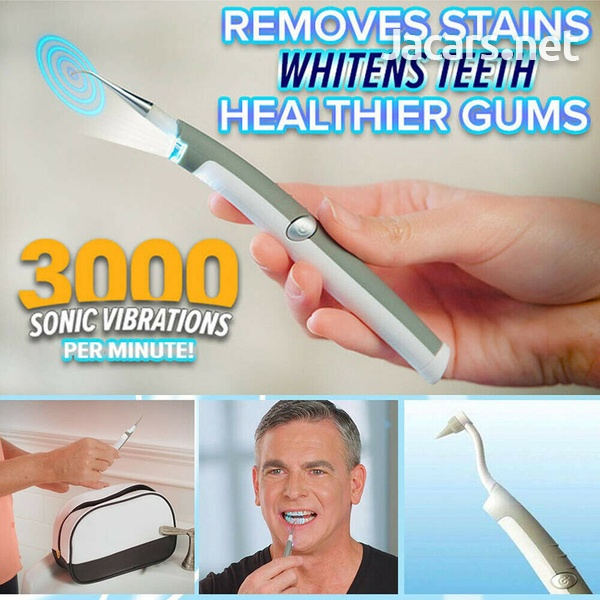 Dental Sonic Ultrasonic Scaler Tartar Clean LED Tooth Pick Whitening Teeth Scali-3