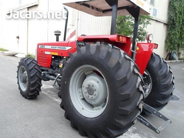 Brand New Model Massey Ferguson 385 4WD Tractors-3