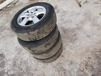 15 inch Mag Rim and tyres.
