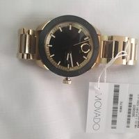 Unisex Movado bold gold watch