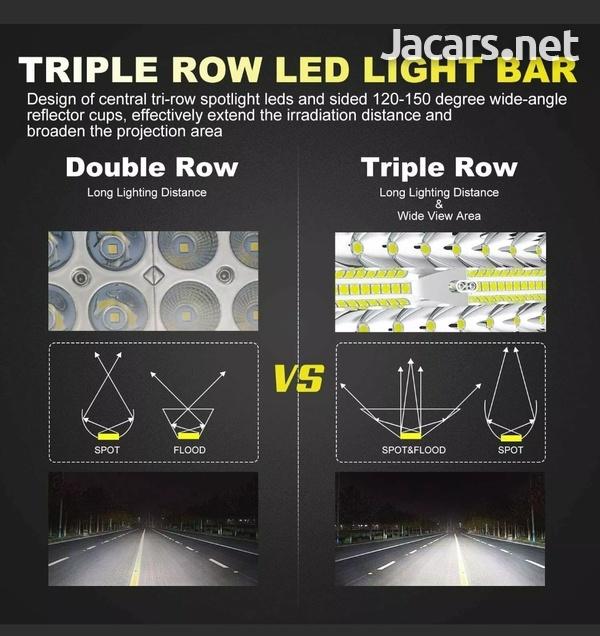 20inch Tri Row 420W LED Work Light Bar Flood-1