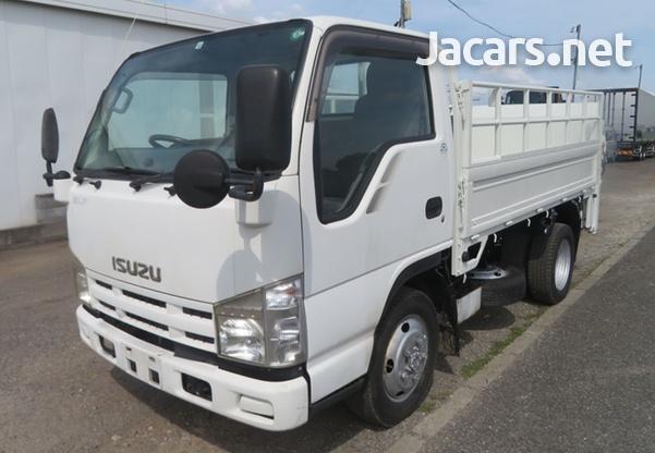 2007 Isuzu Elf Manual 3,0L Flatbed Truck-4