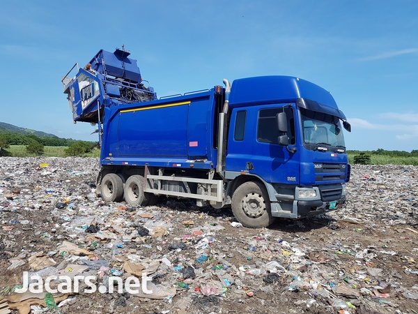 2008 DAF CF 75/250 Garbage Dump Truck-3
