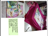 Kids character sheets ,cushion covers for sofa etc.