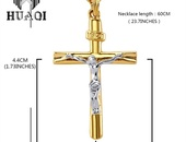 Cross Necklace - chains