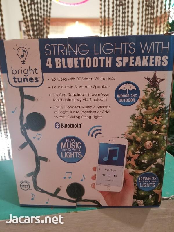 Bluetooth speaker with light-2