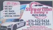 Stewartson & Daleys Auto Sales.