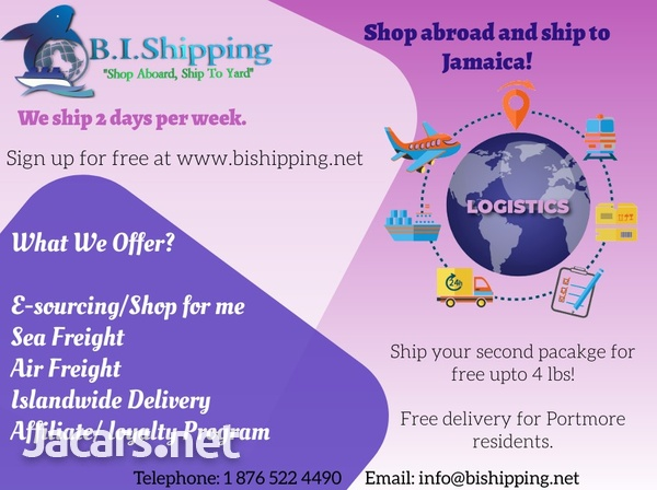 www.bishipping.net -Shop Abroad and Ship to Jamaica-1