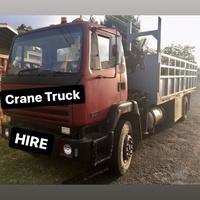 Crane Truck + Haulage Services