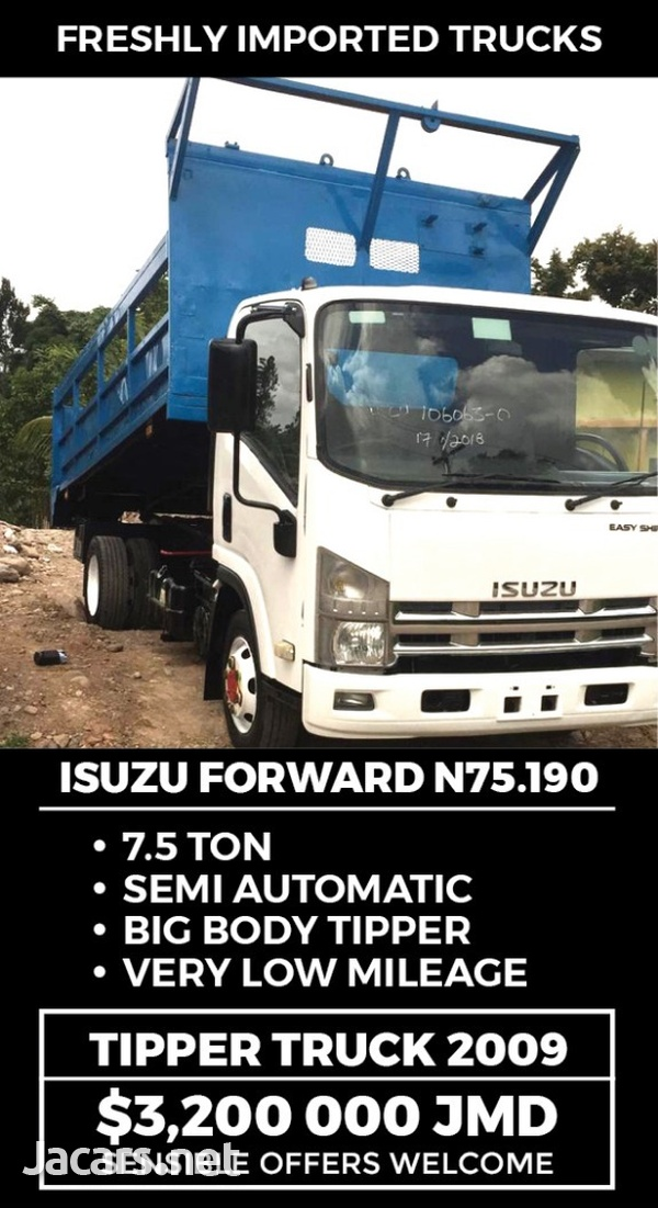Isuzu N75/NQR Tipper Truck 2009-1