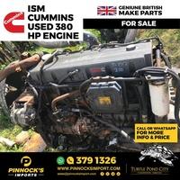 ISM CUMMINS USED 380 HP ENGINE
