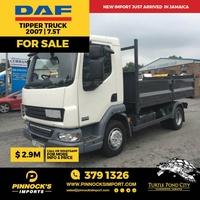 DAF Tipper Truck 7.5T 2007