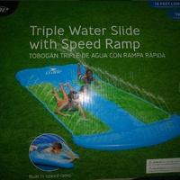 Triple Water Slide